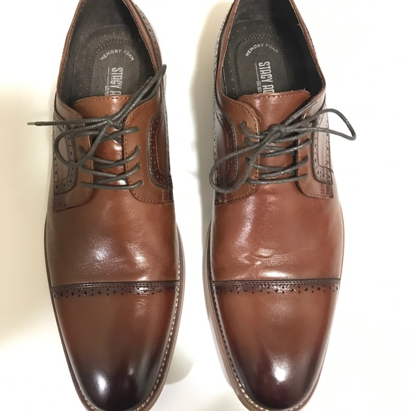 Stacy Adams Brown Mens Dress Shoes Size